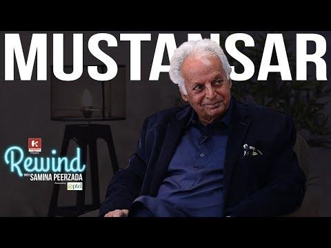 Download Youtube: Mustansar Hussain Tarar and his Untold Stories on Rewind with Samina Peerzada | Urdu Writer