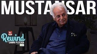 Mustansar Hussain Tarar and his Untold Stories on Rewind with Samina Peerzada | Urdu Writer