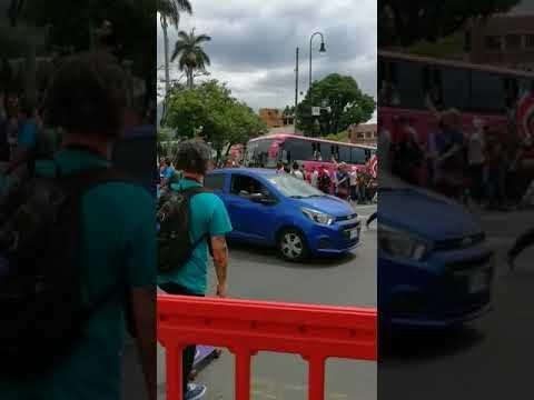 Manifestación contra nicaragüenses 2