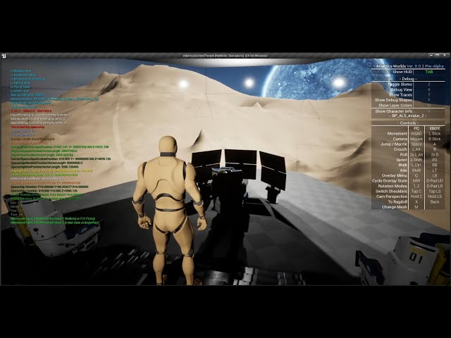 Spaceship Update - Part 1 [UE4]