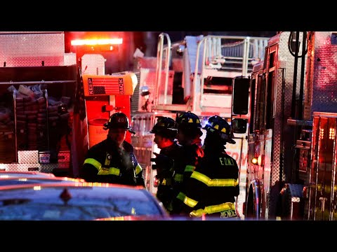 Fire officials hold news conference on deadly New York apartment fire