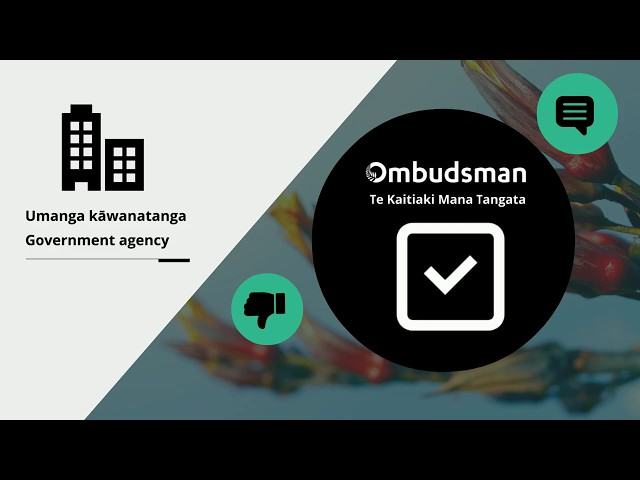 What the New Zealand Ombudsman does