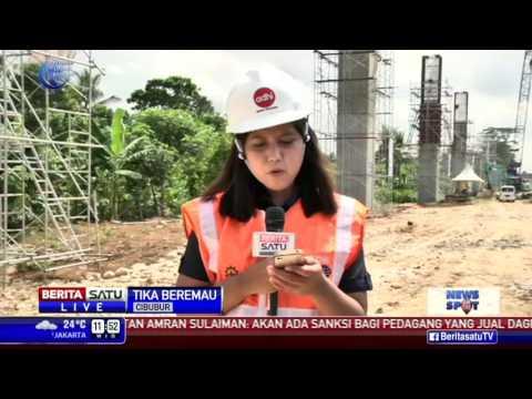 300 Tiang Pancang Proyek LRT Sudah Dikerjakan Adhi Karya