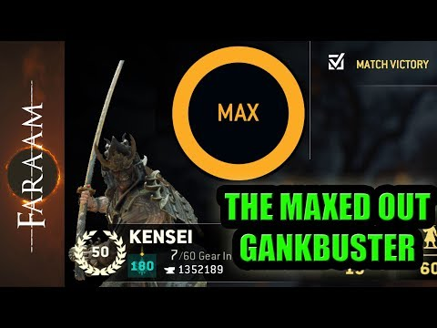 [For Honor] The maxed out Gankbuster - Rep 50 Kensei