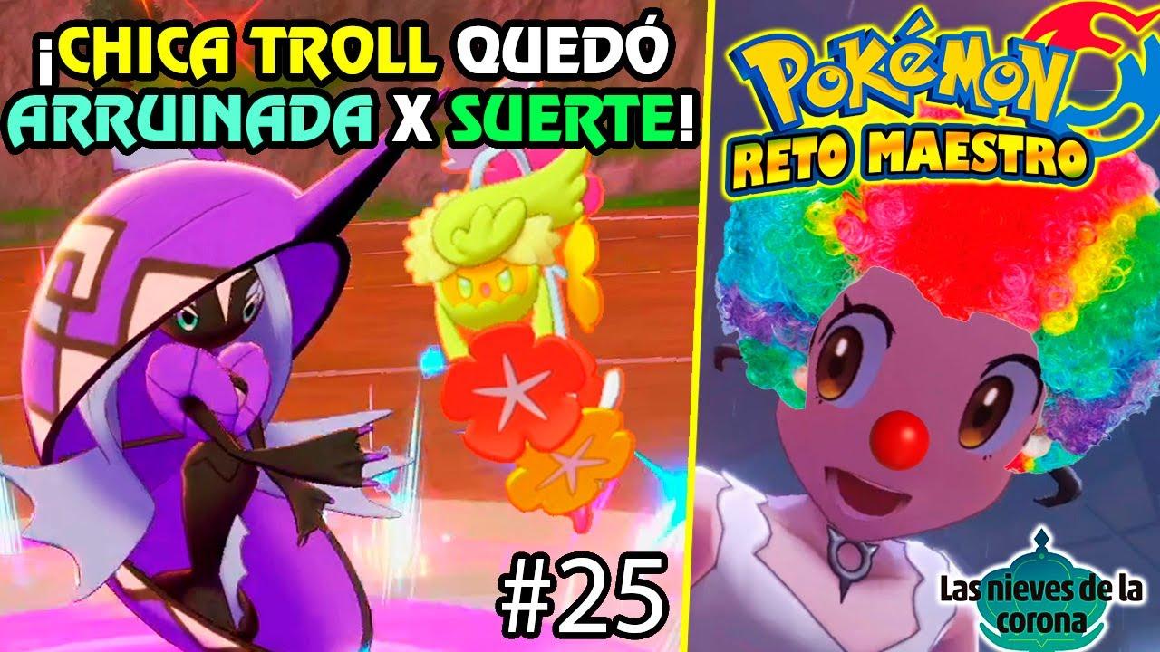🤡 ¿TAPU FINI FÍSICA? ¡PUROS CRÍTICOS ME SALVAN! Reto Maestro #25 |Combates VGC 2021| Pokémon Espada