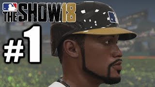 BLACK PANTHER GETS DRAFTED! | MLB The Show 18 | Road to the Show #1
