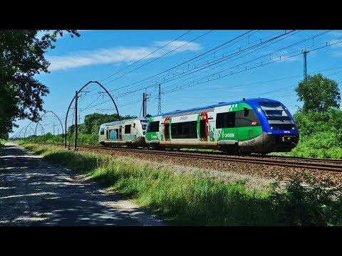 Rail Live. Very Fast Trains... dans la grande ligne droite des Landes !