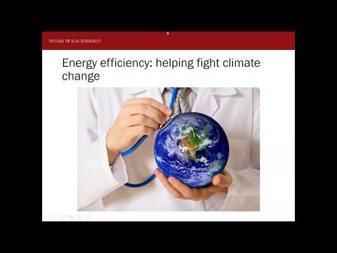 Webinar for the release of the ACEEE/PSR report Saving Energy, Saving Lives