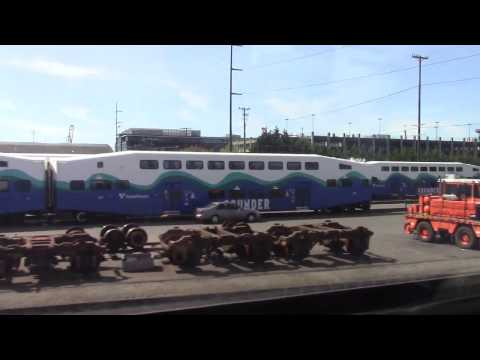 Sounder train Seattle to Tacoma pt.1