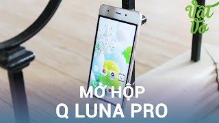 Vật Vờ  Mở hộp & đánh giá nhanh Q Luna Pro: 4,990,000đ có cảm biến vân tay, USB Type C