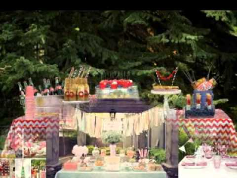 diy outdoor party decorations ideas youtube. Black Bedroom Furniture Sets. Home Design Ideas