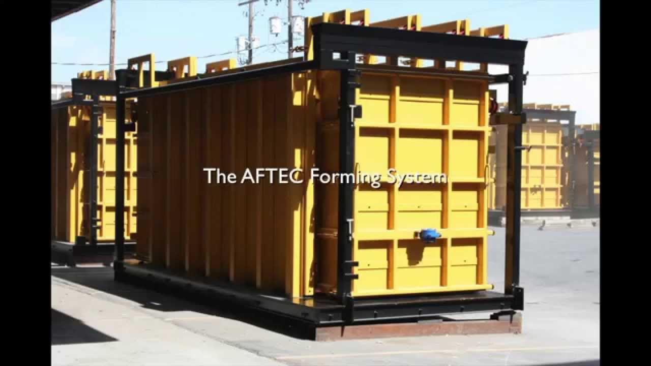 Precast Wall Forms- the AFTEC Advantage- Aftec Advanced Forming ...