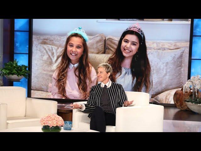 Sophia Grace & Rosie Wish Ellen Happy Birthday