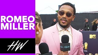 ROMEO MILLER Talks Riverdale Love Triangles, Famous in Love and Fashion at the MTV Movie Awards!