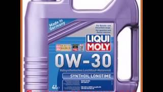Синтетическое моторное масло liqui moly synthoil longtime 0w-30 cfsm a3b4 4л 7511