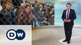 Беженцы попытались силой вырваться из Греции - DW Новости (29.02.2016)(Ситуация на греческо-македонской границе, где скопились 7 тысяч беженцев, обострилась. Между тем, канцлер..., 2016-02-29T17:39:50.000Z)