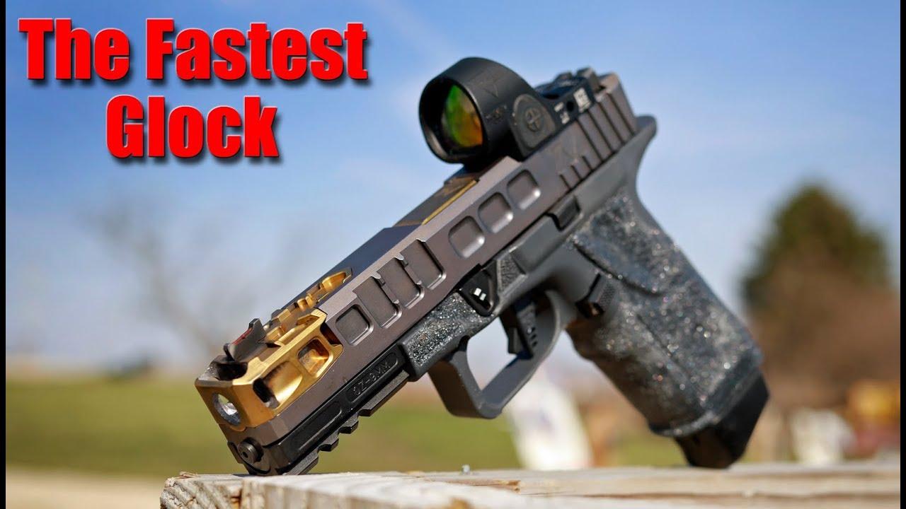 Trinity Nevada Grnd Zro: Integrally Compensated Glock Pistol