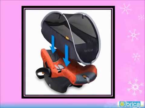 Infant Car Seat Covers BRICA Comfort Canopy Cover