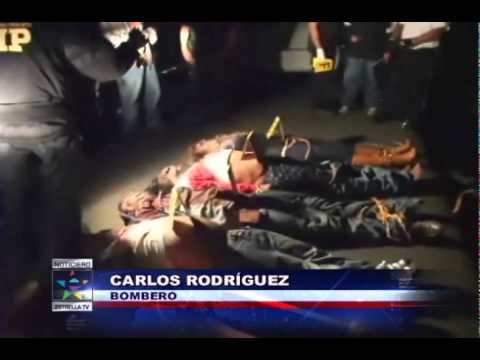 Muerte de narcos desata guerra en Guatemala - YouTube