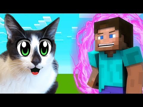 RABBIT BUFFY AND THE PORTAL IN MINECRAFT ! CHALLENGE FIND A CREEPER! MINECRAFT in real life