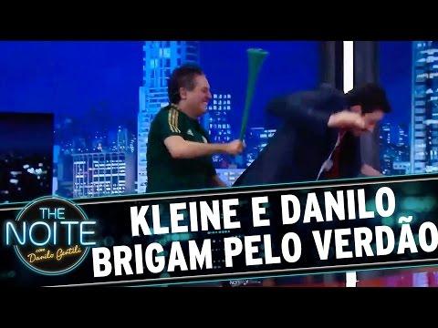 The Noite (03/12/15) - Marcos Kleine E Danilo Brigam Em Prol Do Palmeiras