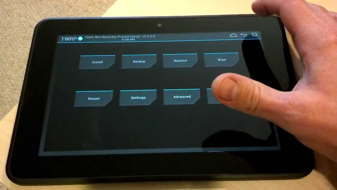 Unlocked Bootloader + TWRP for Kindle Fire HD - YouTube