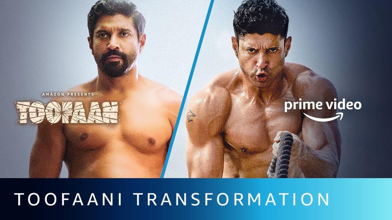 Download Toofaani Transformation Of Farhan Akhtar   Amazon Prime Video