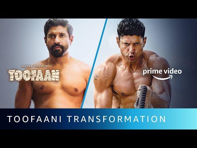 Toofaani Transformation Of Farhan Akhtar   Amazon Prime Video