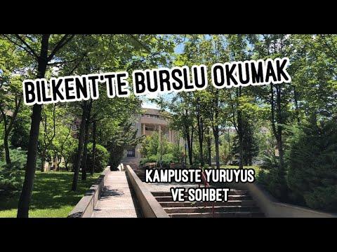 Bilkent Üniversitesinde Burslu Okumak