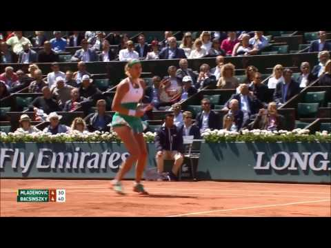 Timea Bacsinszky defeated Kristina Mladenovic to reach Roland Garros 2017 semis  - QF highlights