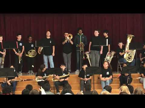 Pearson Ranch Middle School - Instrument Demonstrations
