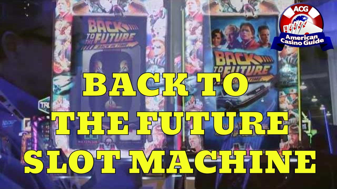 Back to the Future Slot Machine Review and Video