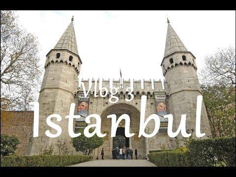 Istanbul City Tour - Gülhane Park - Topkapi Palace - Alis Verişh Mərkəzi - Mall - Turkey  / VLOG-3