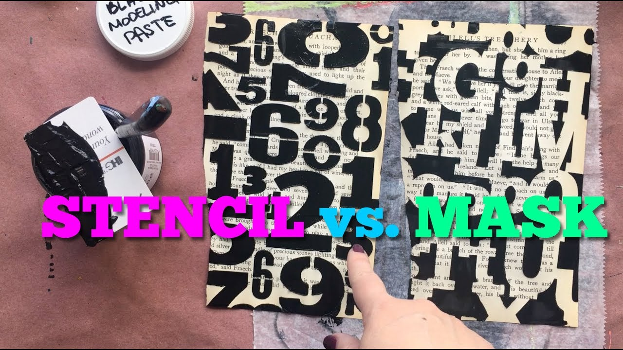 Stencil vs  Mask: What's the Difference?