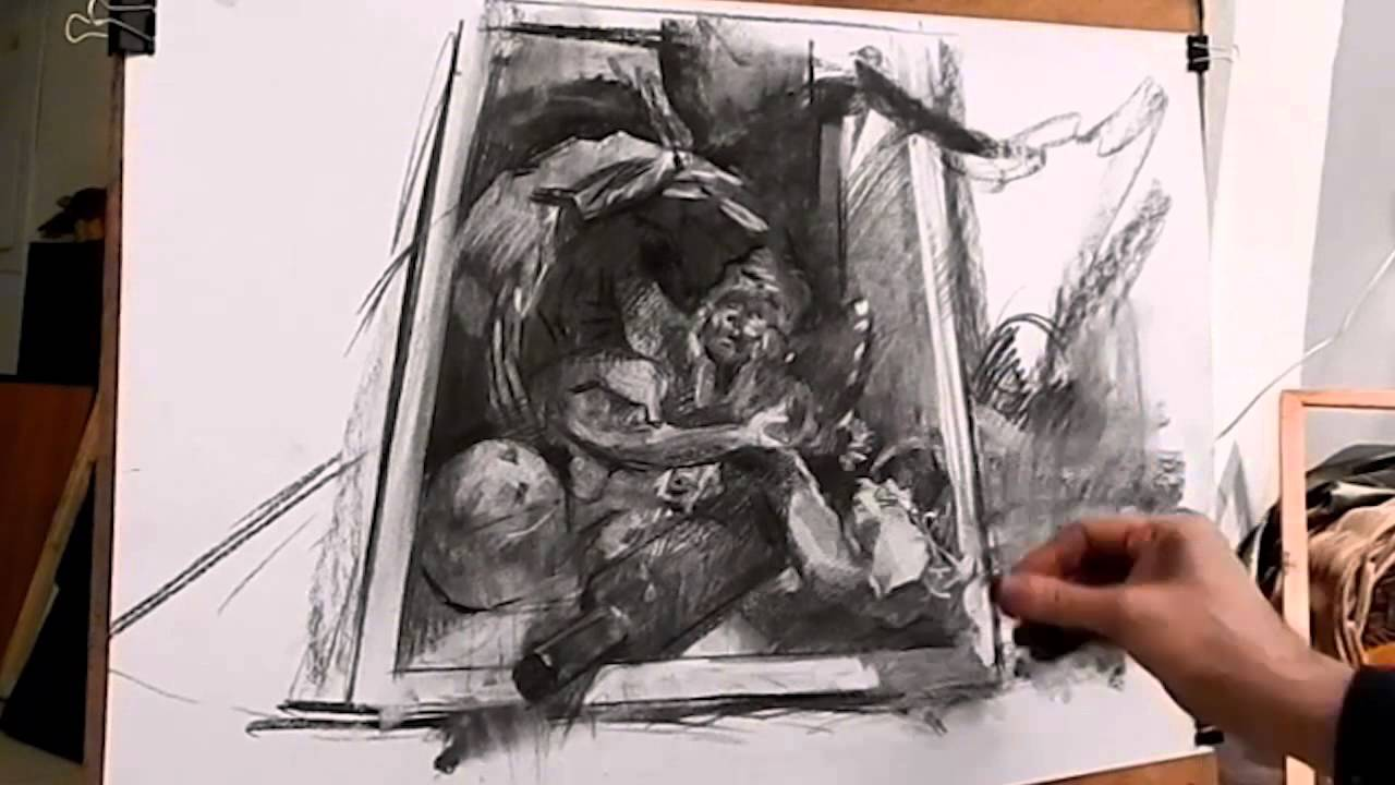 Life Drawing in Charcoal: With 221 Illustrations ebook