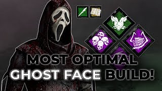MOST OPTIMAL GHOST FACE BUILD & HOW TO PLAY IT! - Dead by Daylight!