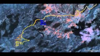 Balkan Marathon Rally 2012, Day4, SS4 Cars GPS tracks replay
