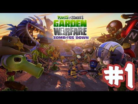 Растения против Зомби: Садовая война - Прохождение на Playstation 4 [Lets Play] #1