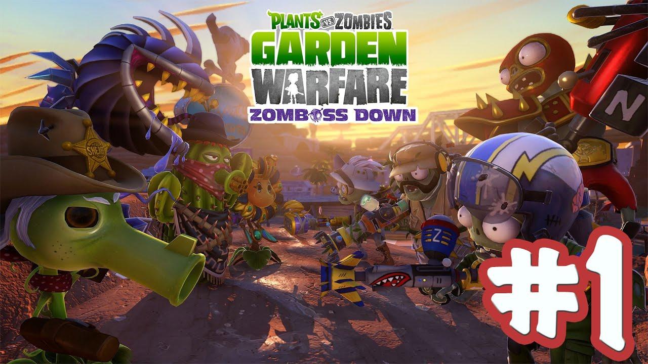Игра растения против зомби садовая война скачать