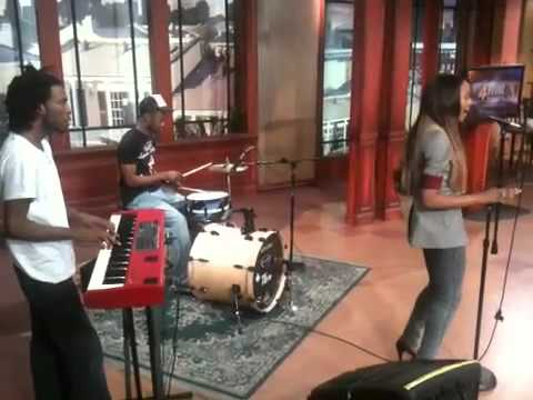 Kourtney Heart performing My Boy live on the Channel 4 news