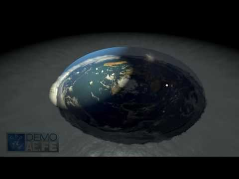 Flat Earth (AE) 3D animations FEEL FREE TO USE!
