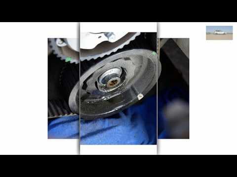 Откручиваем болты шкивов Subaru EJ 204. Замена сальников распредвалов при замене ГРМ Субару ej204.