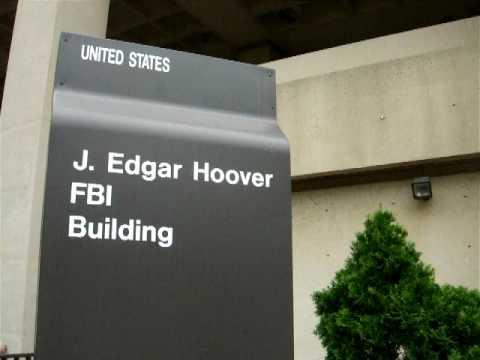 David Bowie visits the FBI