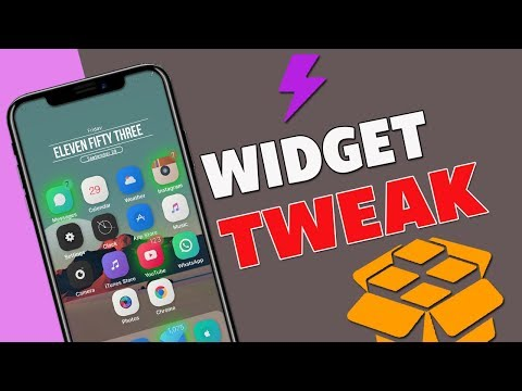 NEW How To Install Widgets On iOS 11-11 1 2 Electra