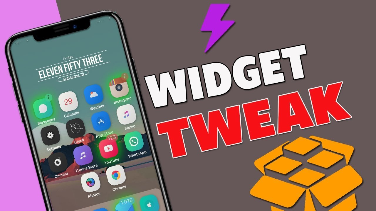 NEW How To Install Widgets On iOS 11-11 1 2 Electra Jailbreak - Xen HTML /  iWidgets / XenInfo