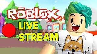 ROBLOX LIVE STREAM! GAMING WITH FANS #1 (with challenges)