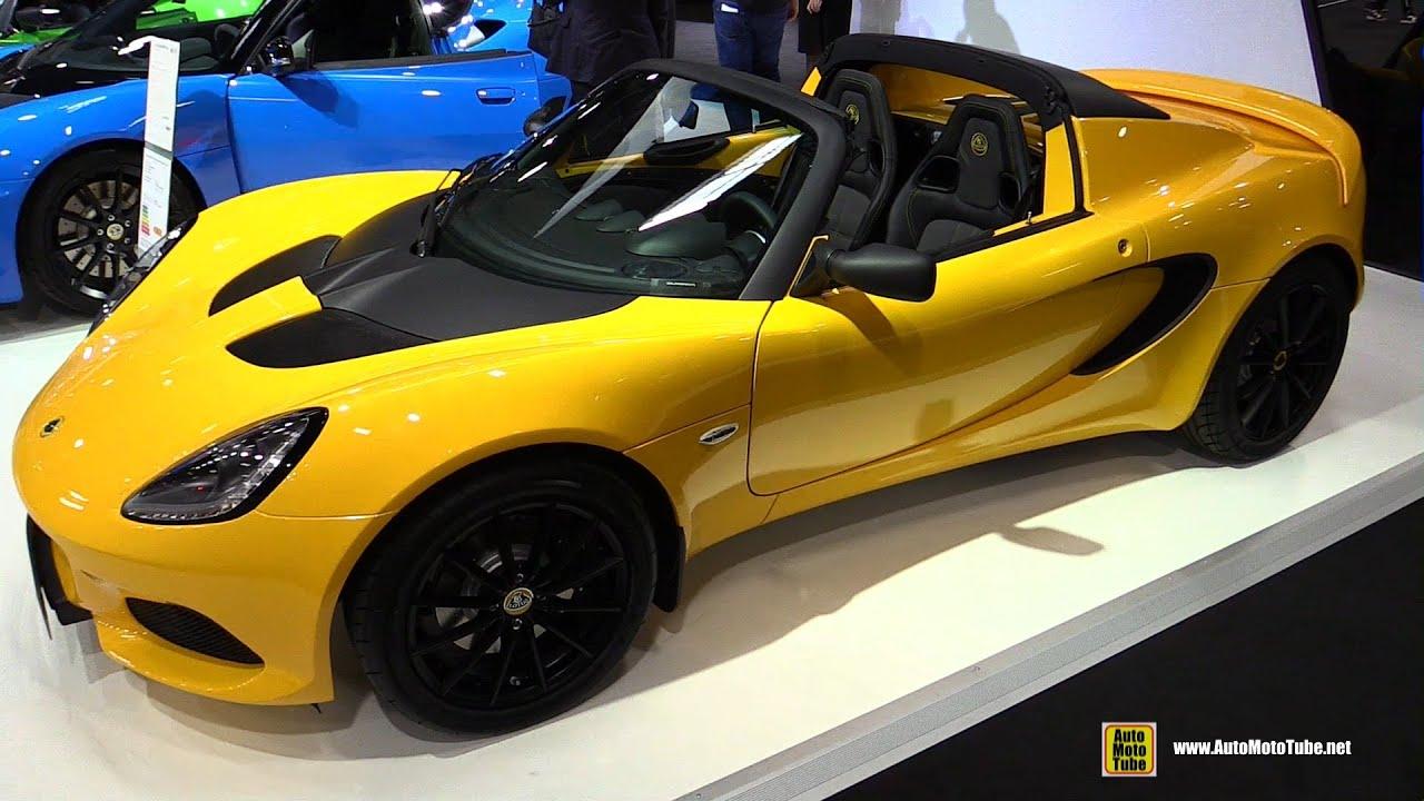 2019 Lotus Elise 220 Sport Exterior And Interior Walkaround 2018