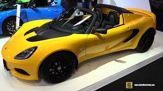 2019 Lotus Elise 220 Sport - Exterior and Interior Walkaround - 2018 Paris Motor Show