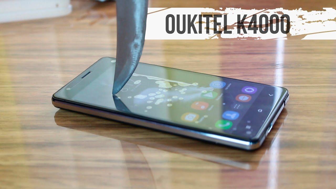 Oukitel K4000. Полный обзор долгоиграющего смартфона - YouTube
