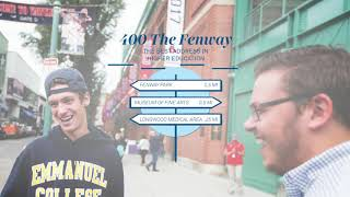 Helix Media Marketing | Be in Boston | Emmanuel College